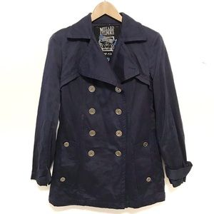 Anthro Millard Fillmore double breasted jacket